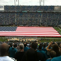 Photo taken at EverBank Field by Doris W. on 9/30/2012