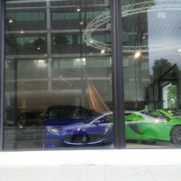 Photo taken at McLaren Auto Gallery Beverly Hills by Kim D. on 7/18/2015