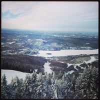 Photo taken at Sommet du Mont-Tremblant Summit by Mikaël L. on 1/26/2013