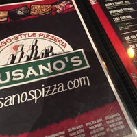 Photo taken at Gusano's Chicago Style Pizzeria & Sports Bar by Ali D. on 5/18/2016