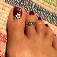 Photo taken at Ten Perfect Nails by Kim D. on 7/7/2014