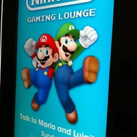 Photo taken at Nintendo Game Lounge by Kim D. on 7/21/2013
