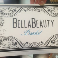 Photo taken at Bella Beauty Bridal by Tina R. on 7/17/2013