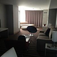 Photo taken at Hilton San Jose by Tina R. on 1/22/2013
