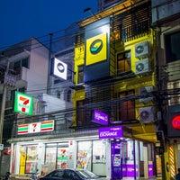 4/26/2015 tarihinde Box K.ziyaretçi tarafından Matchbox Bangkok Hostel'de çekilen fotoğraf