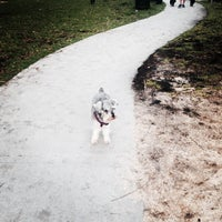 Photo taken at Dog Park for The Waverly & The Flamingo by Chad W. on 3/28/2014