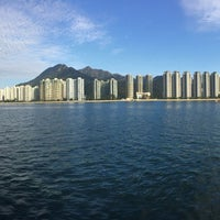 Photo taken at Ma Liu Shui Ferry Pier by Rex L. on 2/1/2017