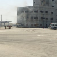 Photo taken at Ju'aymah Advanced Fire Training Center by Ali A. on 2/26/2017