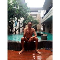 Photo taken at The Sunset Hotel And Villas by Panca A. N. on 12/29/2014