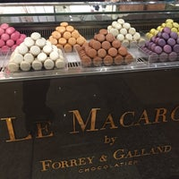 Photo taken at Le Macaron by Forrey & Galland by Артур Н. on 3/20/2016