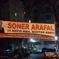 Photo taken at 19 Mayıs Mahallesi Muhtarlığı by Ugur O. on 3/7/2014
