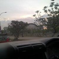Photo taken at Jalan Metro Tanjung Bunga by Fina A. on 11/27/2012