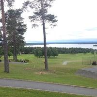 Photo taken at Östersund-Frösö Golfklubb by Henrik J. on 7/21/2015
