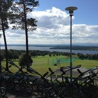 Photo taken at Östersund-Frösö Golfklubb by Henrik J. on 7/29/2013