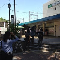 Photo taken at Kami-Nakazato Station by ヒッシー on 6/4/2013