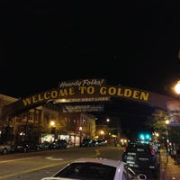 Photo taken at Bridgewater Grill (inside The Golden Hotel) by Alison P. on 9/28/2012