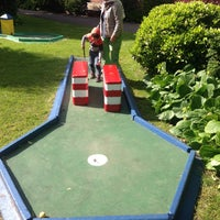 Photo taken at Mumbles Crazy Golf by András N. on 6/6/2015