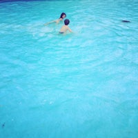 Photo taken at Priory Park Paddling Pool by András N. on 8/16/2014