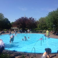 Photo taken at Priory Park Paddling Pool by András N. on 7/10/2015