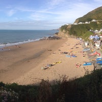 Photo taken at Tresaith Beach by András N. on 8/24/2016