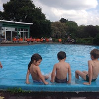 Photo taken at Priory Park Paddling Pool by András N. on 9/22/2014
