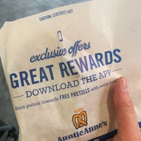 Photo taken at Auntie Anne's by B P. on 4/29/2016
