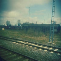 Photo taken at Cuxhaven railway station by Gökçe S. on 4/16/2015