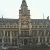 Photo taken at Place Colignonplein by John W. on 10/17/2012
