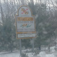 Photo taken at Maryland/Pennsylvania State Line by Linda H. on 12/27/2012