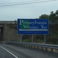 Photo taken at Maryland/Pennsylvania State Line by Linda H. on 8/9/2013