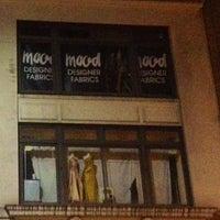 Photo taken at Mood Designer Fabrics by Linda H. on 4/3/2013