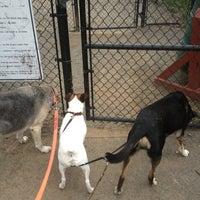 Photo taken at Oakton Dog Park by Linda H. on 3/31/2013