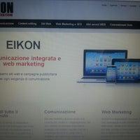Photo taken at Eikon Comunicazione by Evelina I. on 9/17/2013