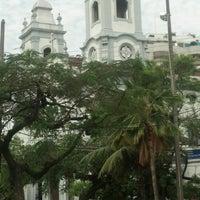 Photo taken at Igreja Matriz Santa Margarida Maria by Fernando M. on 10/26/2012