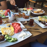 Photo taken at Mola Tıme patisserie-bistro by Ahmet A. on 9/25/2015