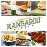 Photo taken at Kangaroo Australian Burger by Eduardo B. on 6/22/2013