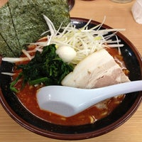Photo taken at ラーメン 恵比寿家 by withgod n. on 11/10/2012
