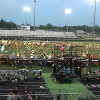 Photo taken at Avon High School Oriole Stadium by Cheri G. on 8/23/2013