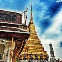 Photo taken at Temple of the Emerald Buddha by Mon P. on 4/23/2013