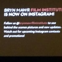 Photo taken at Bryn Mawr Film Institute by Eliot L. on 7/25/2014
