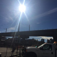 Photo taken at Train Bridge by Kasey T. on 11/14/2016
