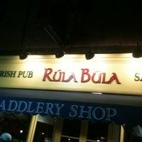 Photo taken at Rúla Búla Irish Pub and Restaurant by Michael A. on 10/14/2012