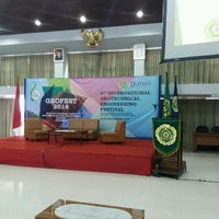 Photo taken at Pascasarjana Universitas Katolik Parahyangan by 'Affif A. on 9/25/2016