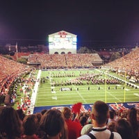 Photo taken at Vaught-Hemingway Stadium by Nika 🌺 A. on 9/16/2012