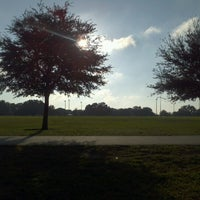 Photo taken at Blue Jacket Park by Chef Theo C. on 10/28/2012