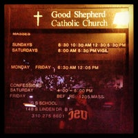 Photo taken at Church of the Good Shepherd by Jon Paul P. on 5/31/2013