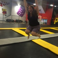 ... Photo Taken At House Of Boom Extreme Air Sports By Melanie R. On 7/ ...