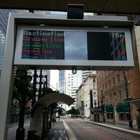 Photo taken at St. Paul Station (DART Rail) by Michael J. on 7/27/2013
