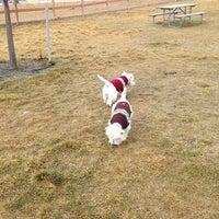 Photo taken at Badger Mountain Dog Park by Cynthia E. on 1/2/2014