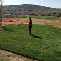 Photo taken at Badger Mountain Dog Park by Cynthia E. on 4/3/2013